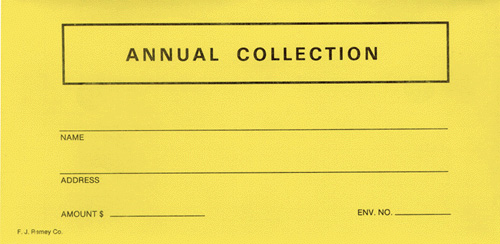 bulk collection envelope